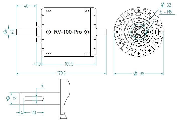 RV-100-Pro drawing