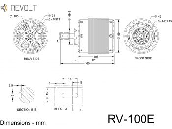 RV-100E drawing